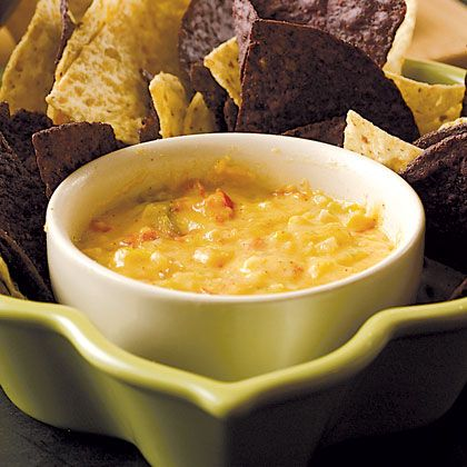 Make your own Chile Con Queso and hold the MSG :)