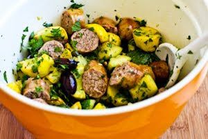 ... with Herbs, Capers, Kalamata Olives, and Lemon (Low-Carb, Gluten-Free