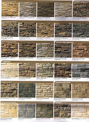 Stack Stone Colors Backyard Ideas Pinterest