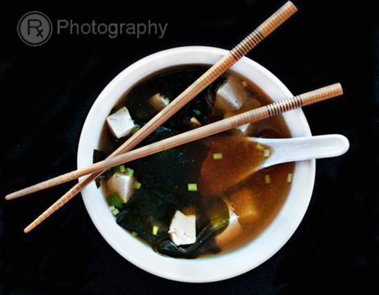 miso soup w/ tofu and wakame | Eat your veggies. | Pinterest