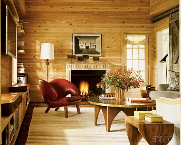 Wood Paneled Family Room Home Pinterest
