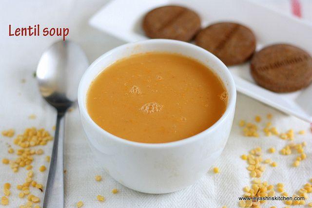 Lentil soup by Jeyashrisuresh, via Flickr