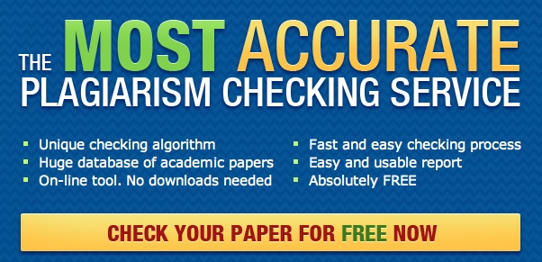 check paper for plagiarism student