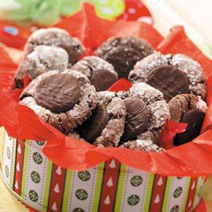 Mint-Topped Chocolate Cookies | Recipe