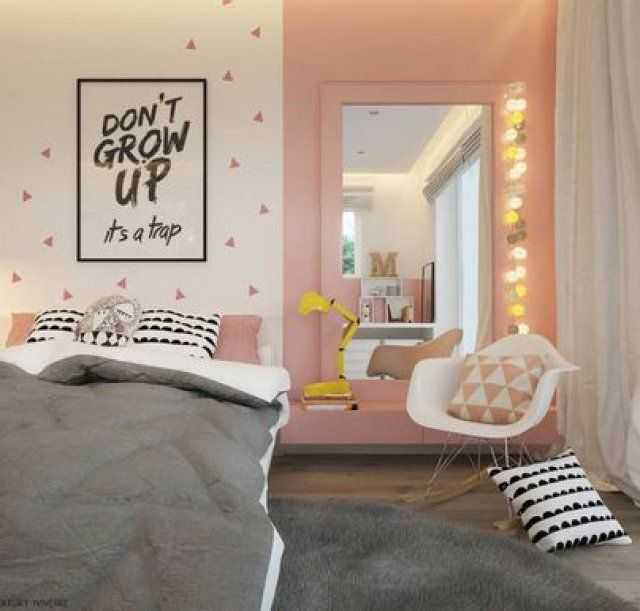 Idee Deco Petite Chambre Ado Fille Amazing Charmant Deco Chambre
