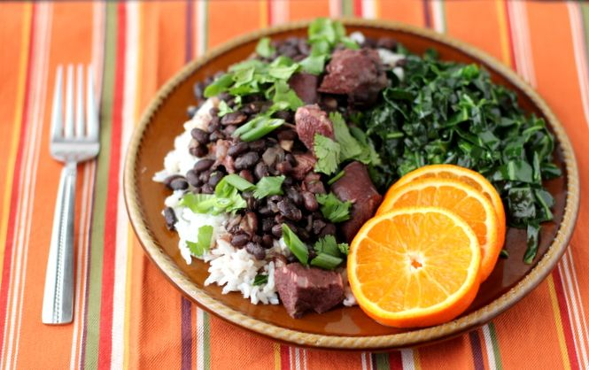 Slow Cooker Feijoada (Brazilian-Style Black Bean Stew). So extremely ...