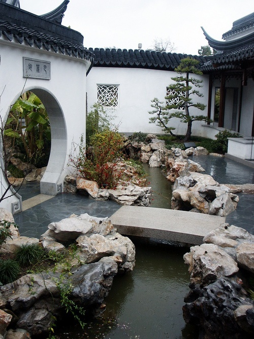 Chinese courtyard garden