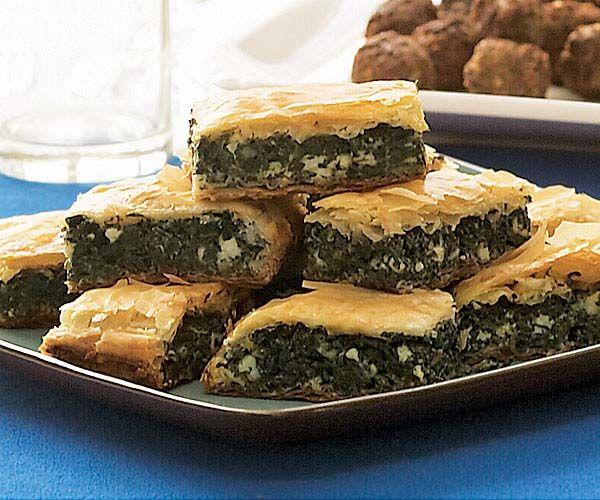 Spanakopita (Spinach & Feta In Phyllo) Recipes — Dishmaps
