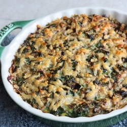 Baked Leek and Spinach Frittata | Eat | Pinterest