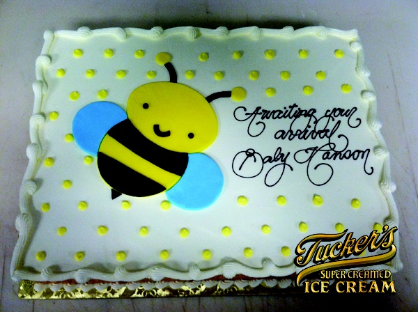 bumble bee baby shower cake baby shower for kennedy pinterest