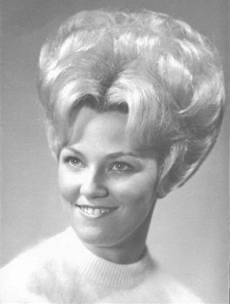 Vintage Beehive Hair