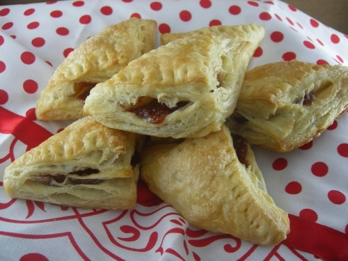 Guava and Tofutti Cream Cheese Pastries | Food! | Pinterest