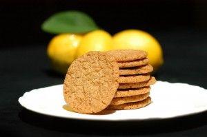 Lemon and Olive Oil Cookies | food | Pinterest