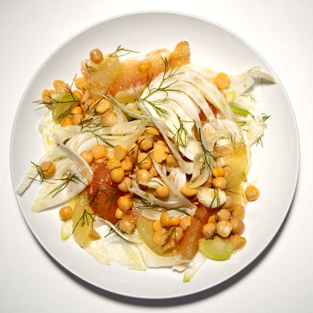 Chickpea, Fennel, and Citrus Salad | Natural food cures and healthy i ...
