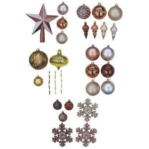 Martha Stewart Living Holiday Ornaments & Decor Merry Metallic Assort ...