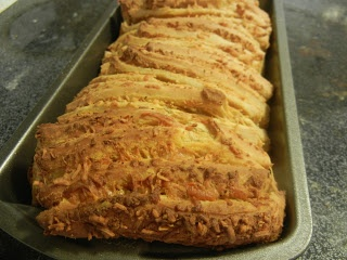 Cheddar, Beer And Mustard Pull-Apart Bread Recipe — Dishmaps