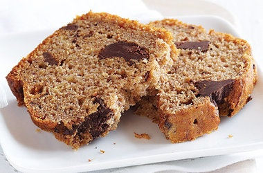 Chocolate Chunk Banana Bread — Punchfork | Healthy | Pinterest