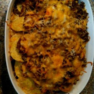 Ground beef nacho bake | * Beef Recipes | Pinterest