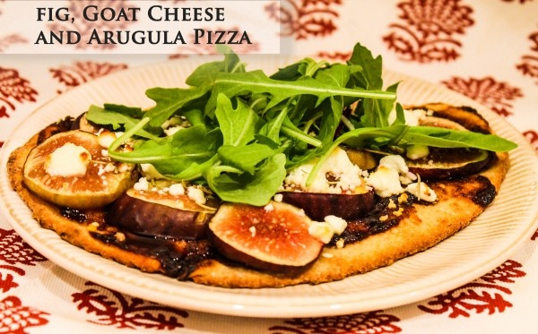 Fig, goat cheese and arugula pizza!   Humbelievable Eats   Pinterest