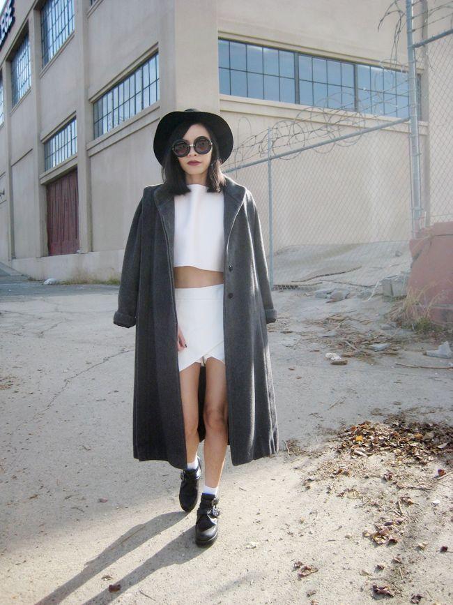 1FINEDAI: Unique Womens Fashion Thick Donut Round Retro Sunglasses