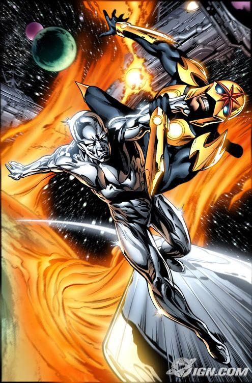 Silver Surfer vs. Nova | Marvel Cosmic | Pinterest