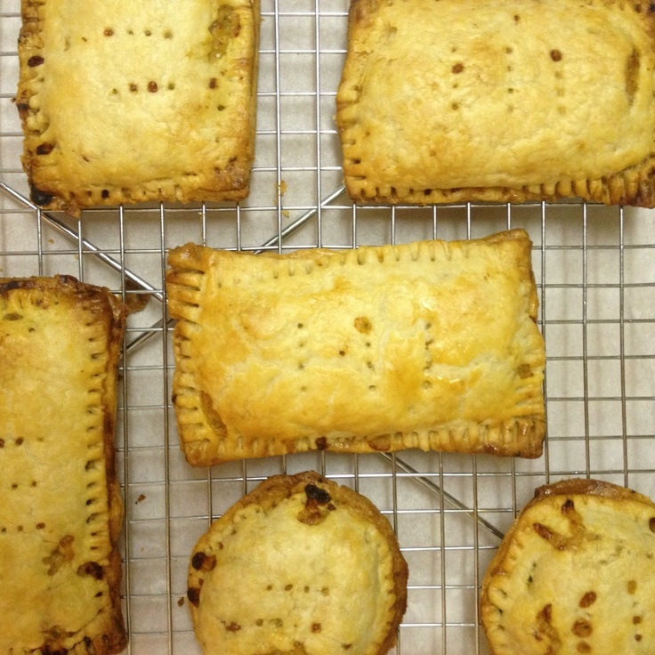 Chicken Chile Relleno Hand-Held Pie | Quiche, Savory Tarts, Puff Past ...