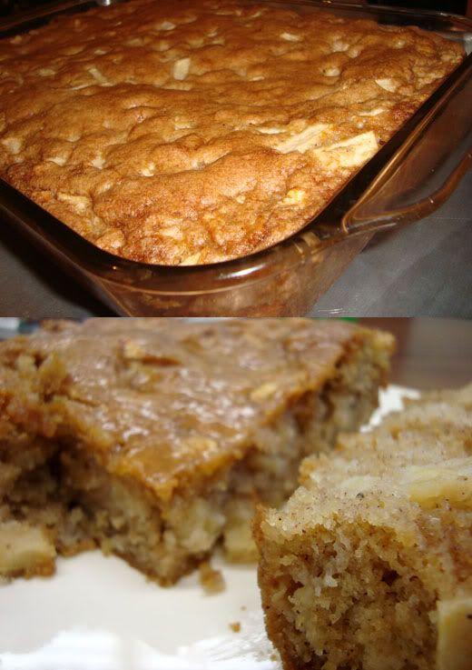 Buttercream Barbie: Caramel Glazed Apple Pie Cake