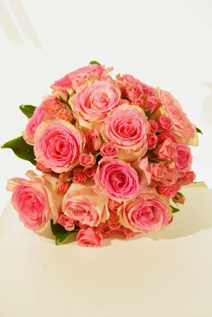Country Rose Tallahassee Florist Pink Weddings Pinterest