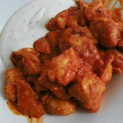 Restaurant-Style Buffalo Chicken Wings. I made these when I had a few ...