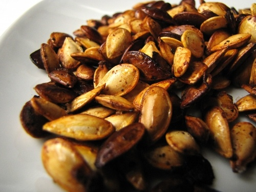 Roasty Toasty Spicy Pumpkin Seeds | Food (cooking) | Pinterest