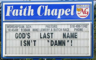 Another 15 Hilarious Church Signs - Oddee.com (funny church signs, hilarious church signs)
