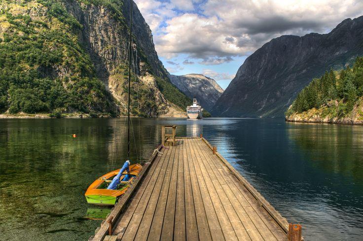 Norway fjords.