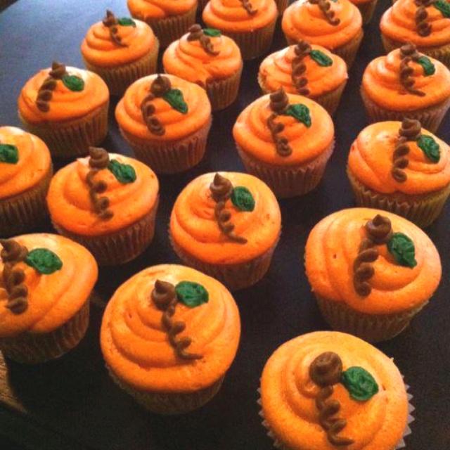 Pumpkin Spice Cupcakes | Cupcakes | Pinterest