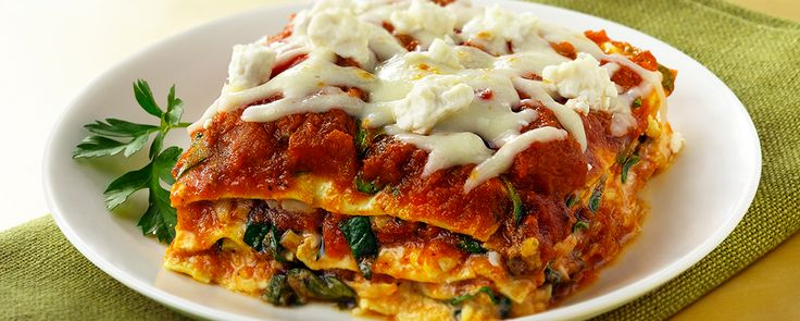 ... Zucchini Ribbon Lasagna 23 grams of protein and 320 calories per