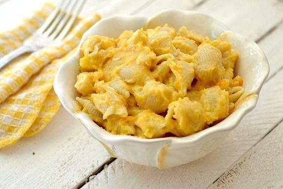 Roasted butternut squash mac n cheese