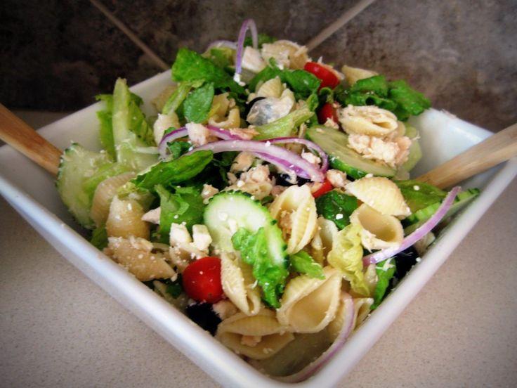 Mediterranean Tuna Salad | Eatables | Pinterest