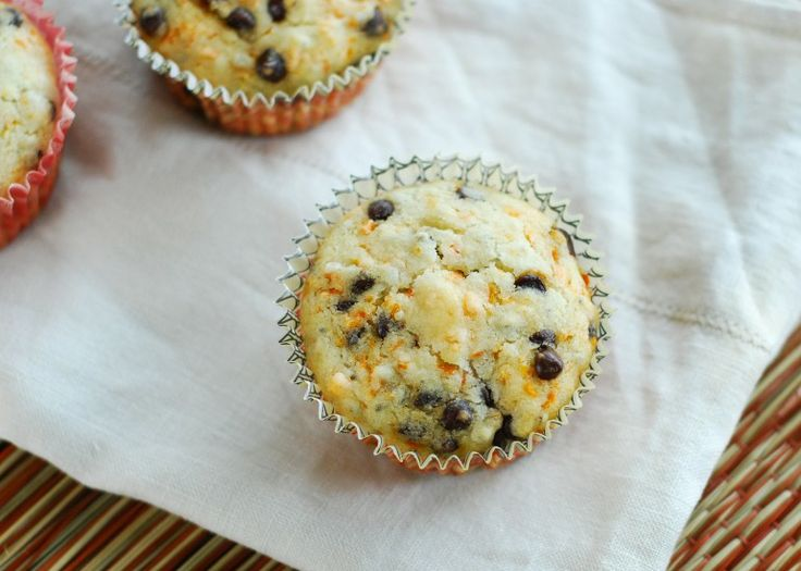 Carrot Chocolate Chip Muffins | Allergy Free | Pinterest