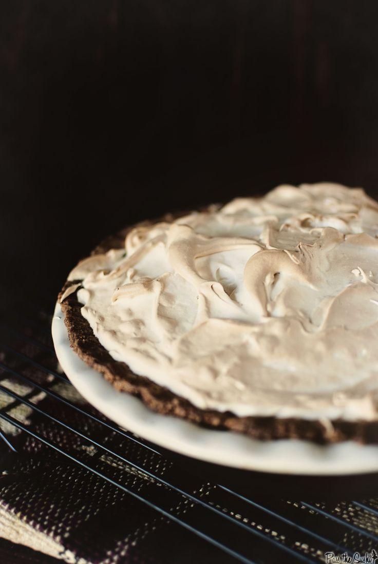 Pumpkin Pie with Brown Sugar Meringue & a #Pumpkin Recipe Round Up