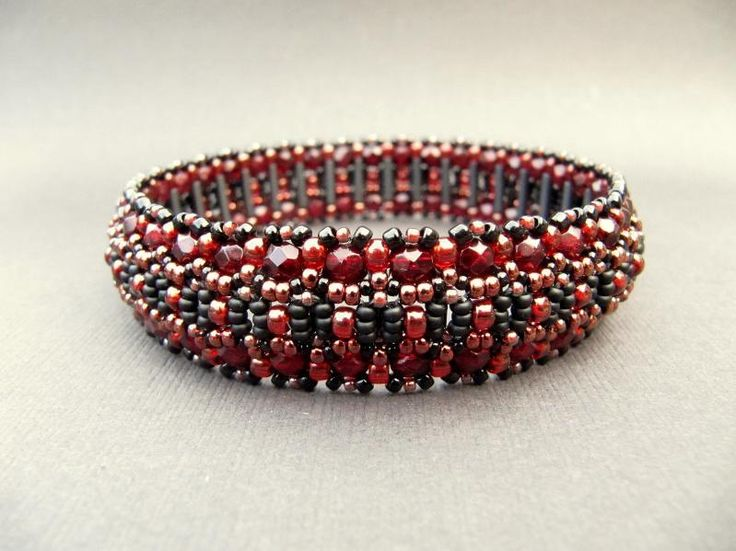La Catedral Beadwoven Bangle ~ pattern for sale