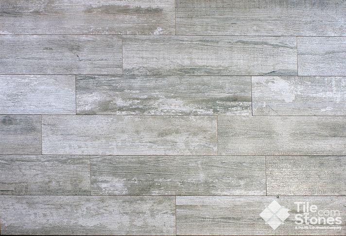 Grey Wood Tile : grey woodlike tile  Crate Series Weather Board Tile Look Like Wood ...