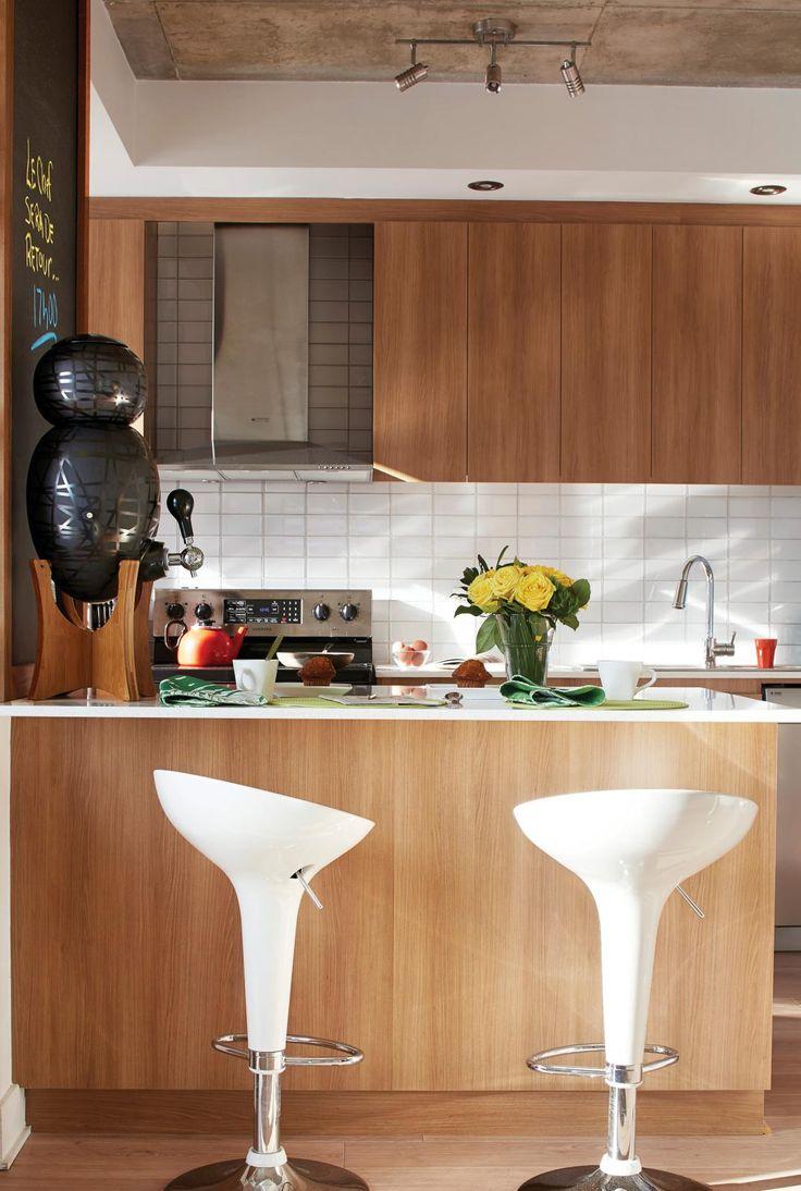 pin by les id es de ma maison on cuisine pinterest. Black Bedroom Furniture Sets. Home Design Ideas