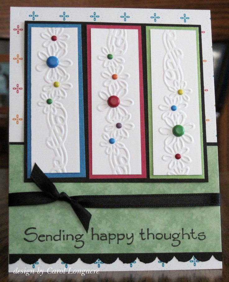 Like the idea for using an embossed border