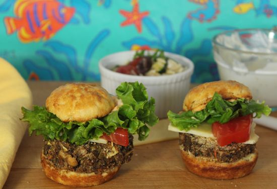 Ultimate Veggie Burger - Wait to you see how see makes the bun ...