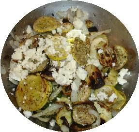 Grilled Summer Vegetables: How to make grilled summer squash with feta