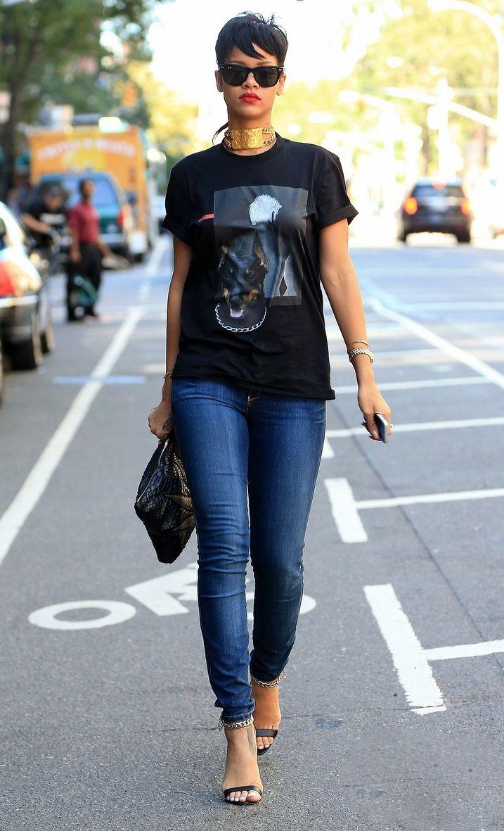 Rihanna Street Style Clothing Pinterest