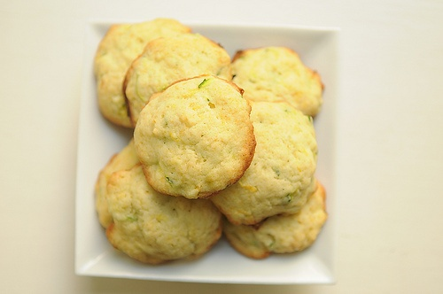 Zucchini-Lemon Cookies: These look light and luscious!