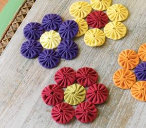 Fabric yo yo patterns free patterns for Yo yo patterns crafts