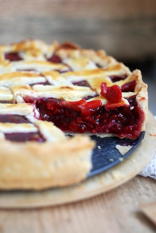 Cherry Pie | Food | Pinterest