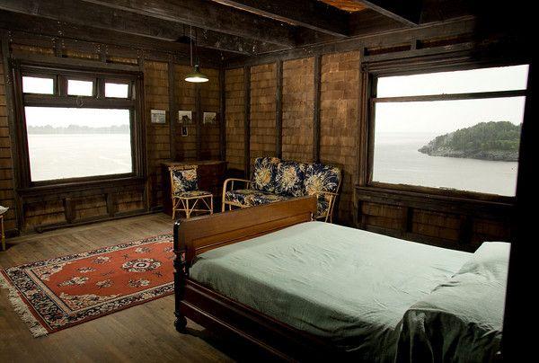 Clingstone House Narragansett Bay Rhode Island Shingles Inside Are