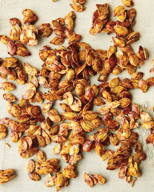 Spiced Pumpkin Seeds | Recipe